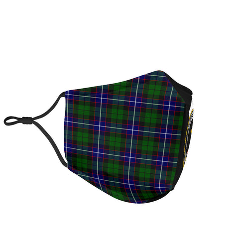 Russell Modern  Tartan Mouth Mask The Half Th88
