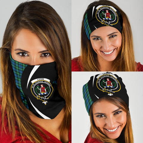 Image of Lyon Clan Tartan Bandana Circle Hj4