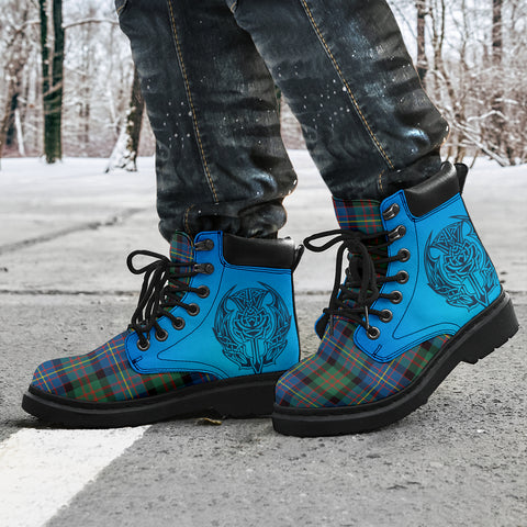 Image of Cameron Of Erracht Ancient Tartan All-Season Boots - Celtic Thistle TH8
