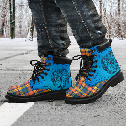 Buchanan Ancient Tartan All-Season Boots - Celtic Thistle TH8