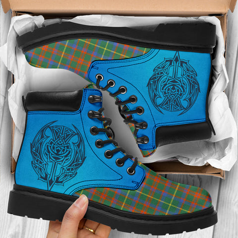 Mackintosh Hunting Ancient Tartan All-Season Boots - Celtic Thistle TH8