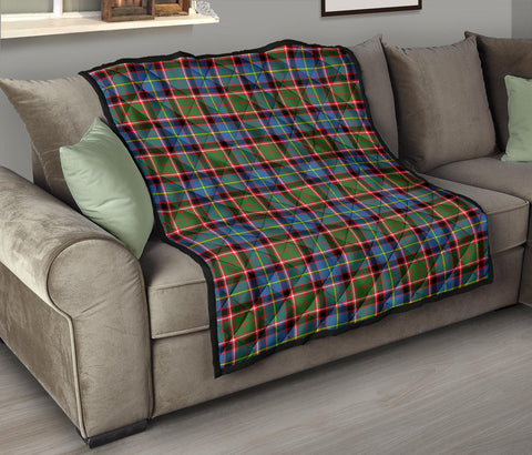 Image of Stirling & Bannockburn District Tartan Premium Quilt TH8