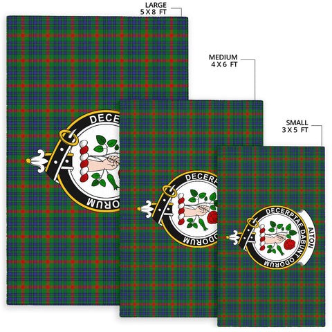 Image of Aiton Clan Tartan Area Rug - BN
