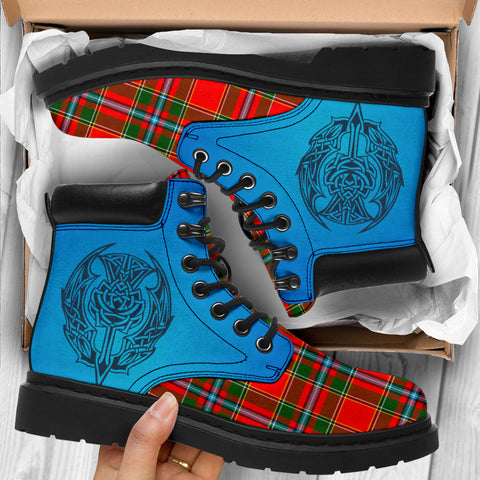 Drummond Of Perth Tartan All-Season Boots - Celtic Thistle TH8