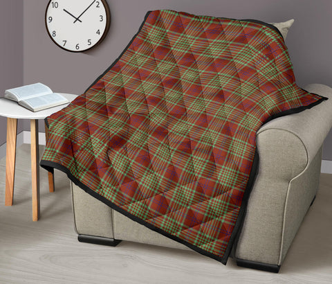 MacGillivray Hunting Ancient Tartan Premium Quilt TH8