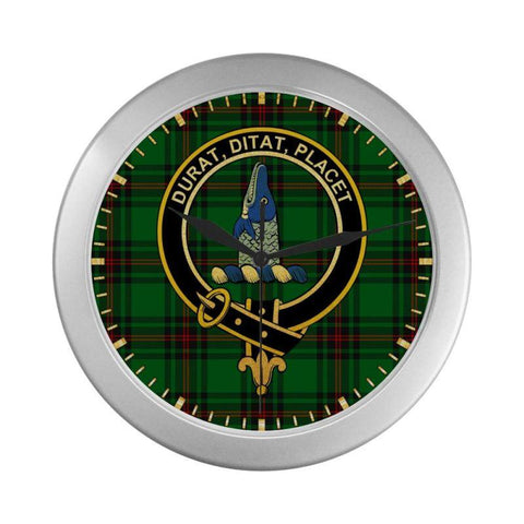 Ged Clan Tartan Wall Clock | Tartan Home Decor | Hot Sale