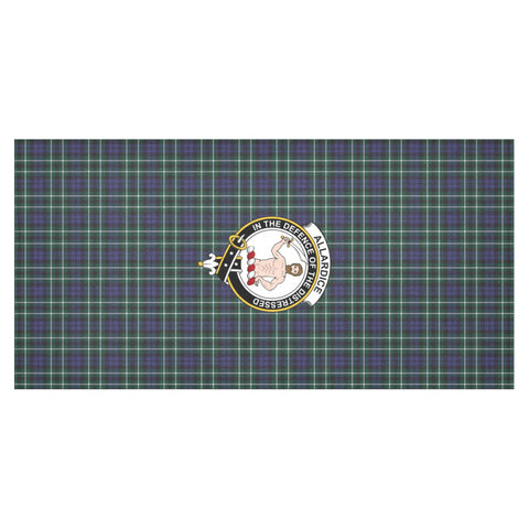 Allardice Crest Tartan Tablecloth | Home Decor