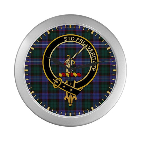 Guthrie Clan Tartan Wall Clock | Tartan Home Decor | Hot Sale