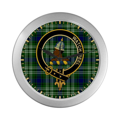 Haliburton Clan Tartan Wall Clock | Tartan Home Decor | Hot Sale