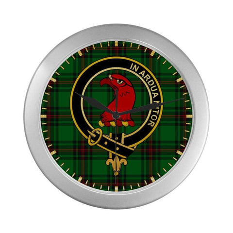 Halkerston Clan Tartan Wall Clock | Tartan Home Decor | Hot Sale