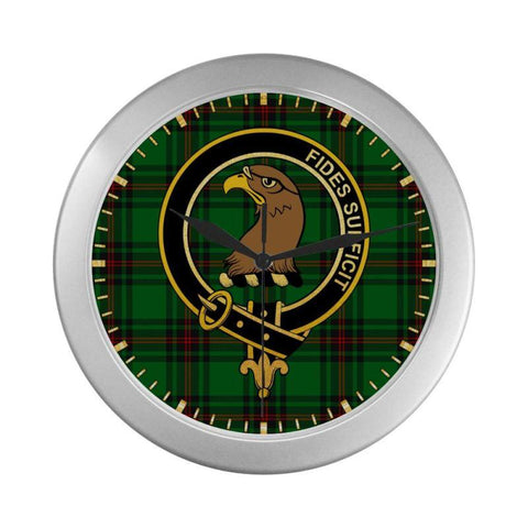 Halkett Clan Tartan Wall Clock | Tartan Home Decor | Hot Sale