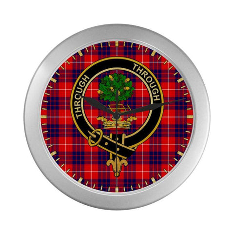Hamilton Clan Tartan Wall Clock | Tartan Home Decor | Hot Sale