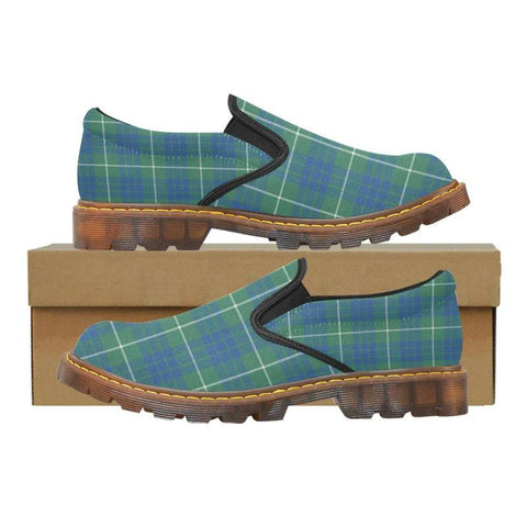Tartan Martin Loafer - Hamilton Hunting Ancient | Men's Casual Loafers | Tartan shoes