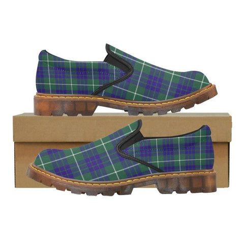 Tartan Martin Loafer - Hamilton Hunting Modern | Men's Casual Loafers | Tartan shoes