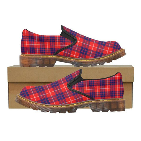 Tartan Martin Loafer - Hamilton Modern | Men's Casual Loafers | Tartan shoes