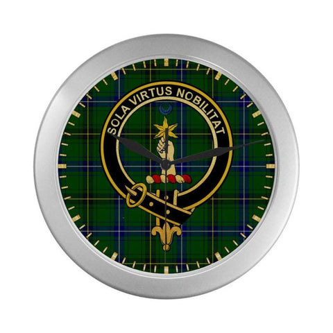 Henderson (Mackendrick) Clan Tartan Wall Clock | Tartan Home Decor | Hot Sale