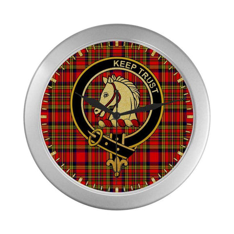 Hepburn Clan Tartan Wall Clock | Tartan Home Decor | Hot Sale