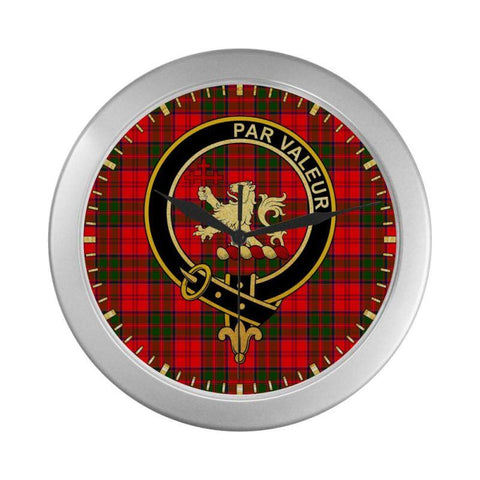 Heron Clan Tartan Wall Clock | Tartan Home Decor | Hot Sale
