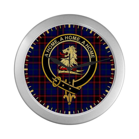 Home (Or Hume) Clan Tartan Wall Clock | Tartan Home Decor | Hot Sale