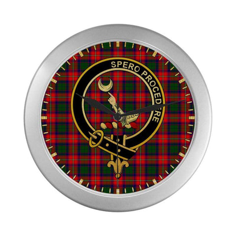 Hopkirk Clan Tartan Wall Clock | Tartan Home Decor | Hot Sale