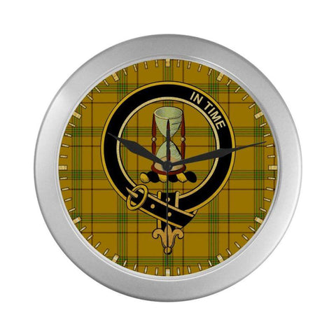 Houston Clan Tartan Wall Clock | Tartan Home Decor | Hot Sale