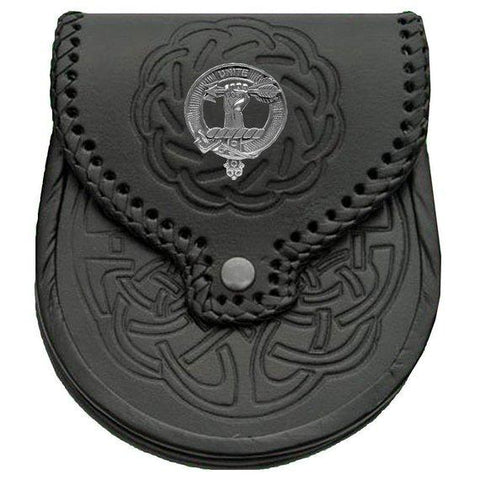 Brodie Badge Leather Sporran | scottishclans.co
