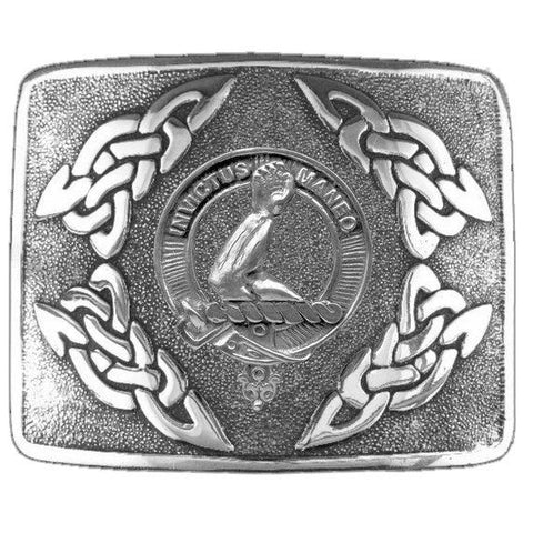 Armstrong Clan Crest Interlace Kilt Buckle