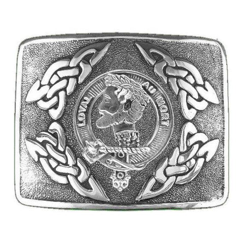 Adair Clan Crest Interlace Kilt Buckle | Scottish Clans
