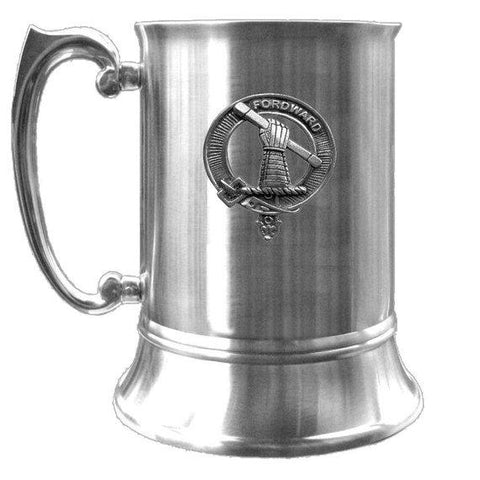 Balfour Tartan Scottish Clan Crest Badge Tankard | scottishclans.co