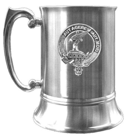 Barclay Tartan Scottish Clan Crest Badge Tankard | scottishclans.co