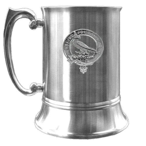 Boswell Tartan Scottish Clan Crest Badge Tankard | scottishclans.co