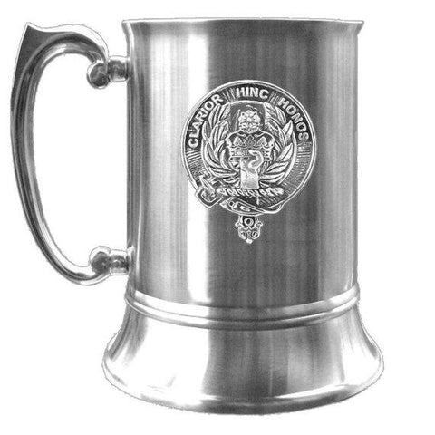 Buchanan Scottish Clan Crest Badge Tankard | scottishclans.co