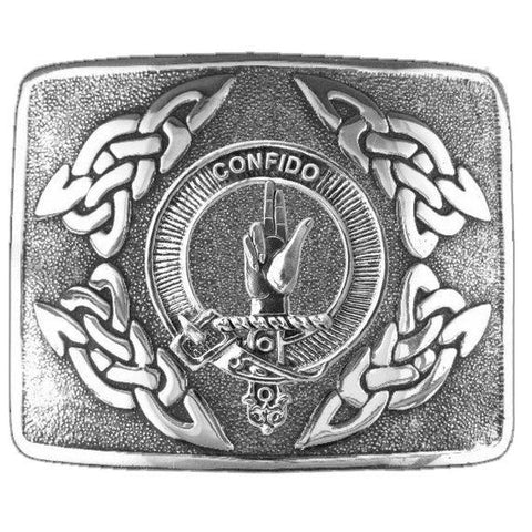 Boyd Clan Crest Interlace Kilt Buckle