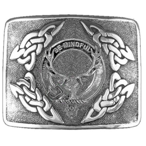 Calder  Clan Crest Interlace Kilt Buckle