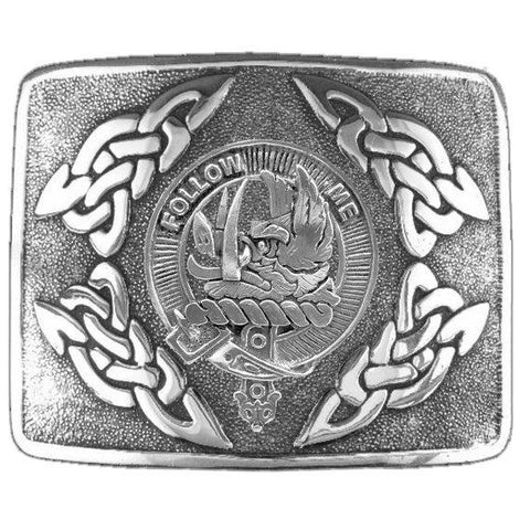 Campbell (Breadalbane) Clan Crest Interlace Kilt Buckle | Scottish Clans