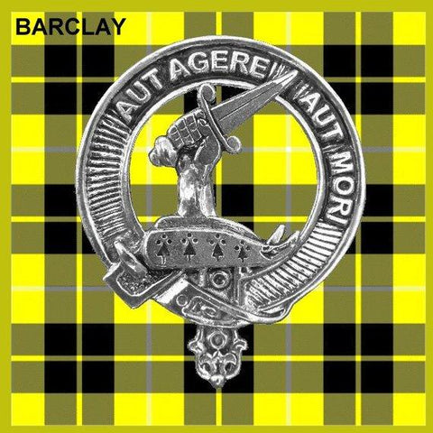 Barclay Tartan Clan Crest Interlace Kilt Belt Buckle TH8
