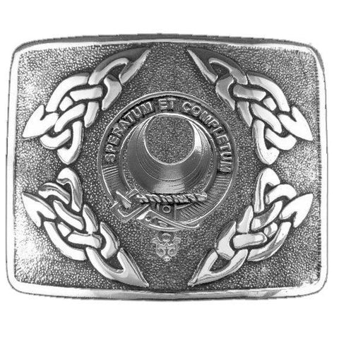 Baillie Clan Crest Interlace Kilt Buckle