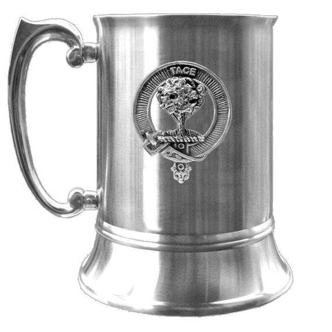 Abercrombie Scottish Clan Crest Badge Tankard | scottishclans.co