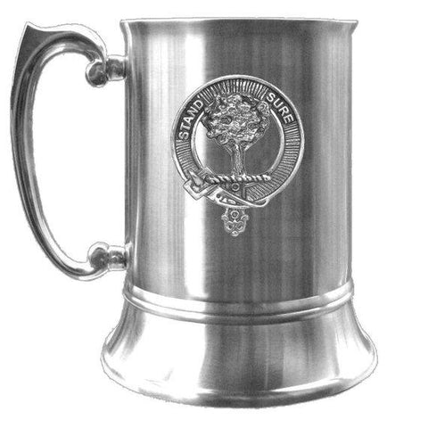 Anderson Tartan Scottish Clan Crest Badge Tankard | scottishclans.co