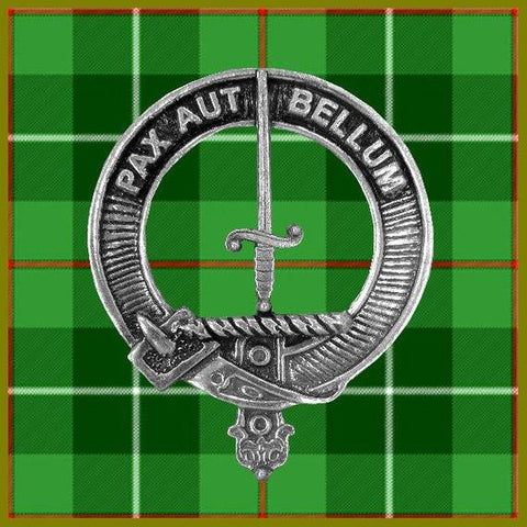 Blaine Tartan Clan Crest Interlace Kilt Belt Buckle