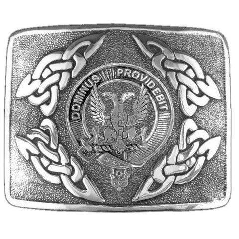 Boyle Clan Crest Interlace Kilt Buckle | Scottish Clans