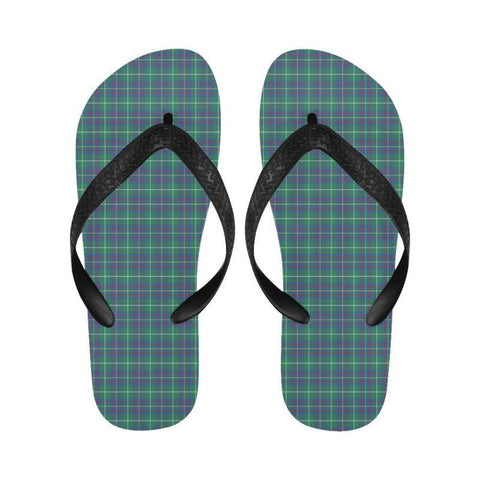 Inglis Ancient Tartan Flip Flops For Men/women Th1 Unisex