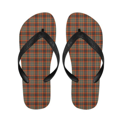Innes Ancient Tartan Flip Flops For Men/women Th1 Unisex