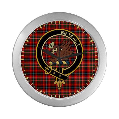 Innes Clan Tartan Wall Clock | Tartan Home Decor | Hot Sale