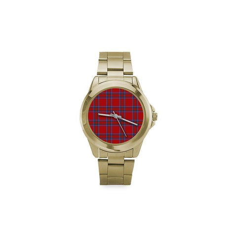 Inverness District Tartan Custom Gilt Watch S8 One Size / Custom Gilt Watch Steel Watches