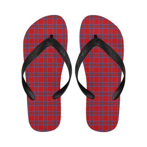 Inverness District Tartan Flip Flops For Men/women Th1 Unisex