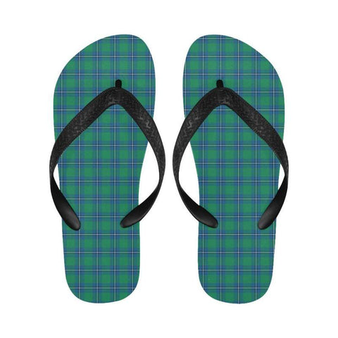 Irvine Ancient Tartan Flip Flops For Men/women Th1 Unisex