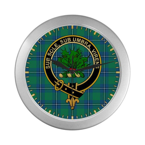 Irvine Clan Tartan Wall Clock | Tartan Home Decor | Hot Sale