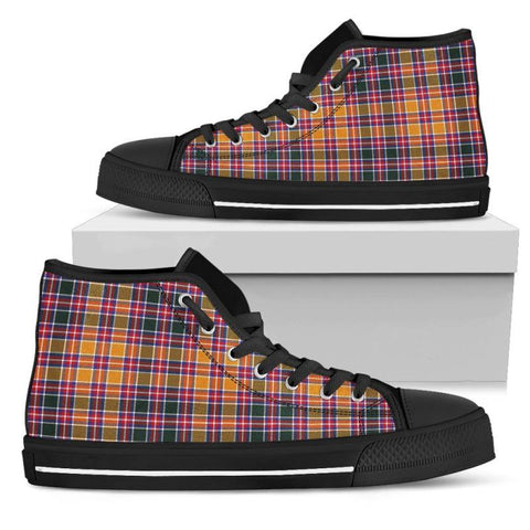 Tartan Canvas Shoes - Jacobite High Top | Over 500 Tartans