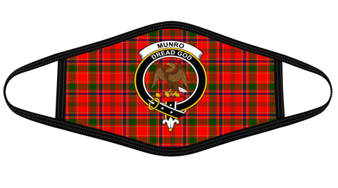 Munro Modern Clan badge Tartan Mask K7